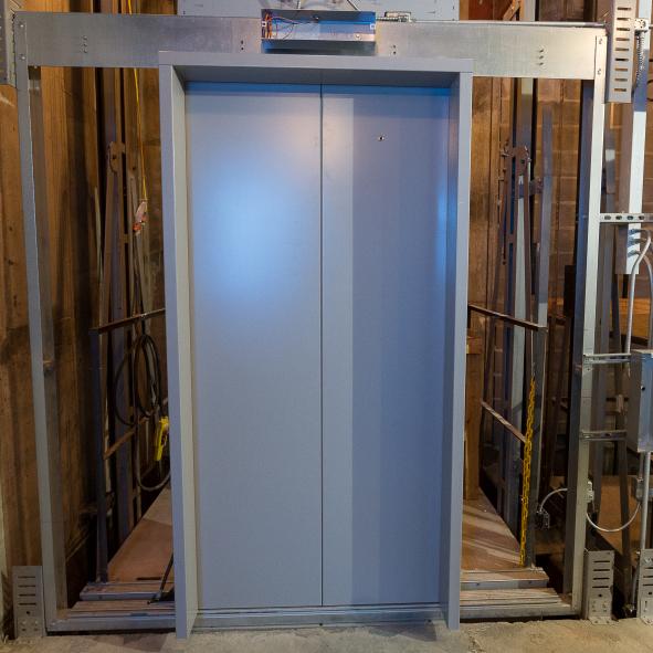 Elevator Door Jamb Mild Steel Lift Door Lift Doors