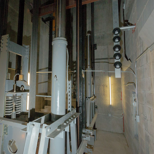 Assembling Hydraulic Elevator System : G tech hotel elevator installation project riu plaza times